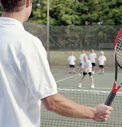 Si tenisul se invata, nu-i asa ?