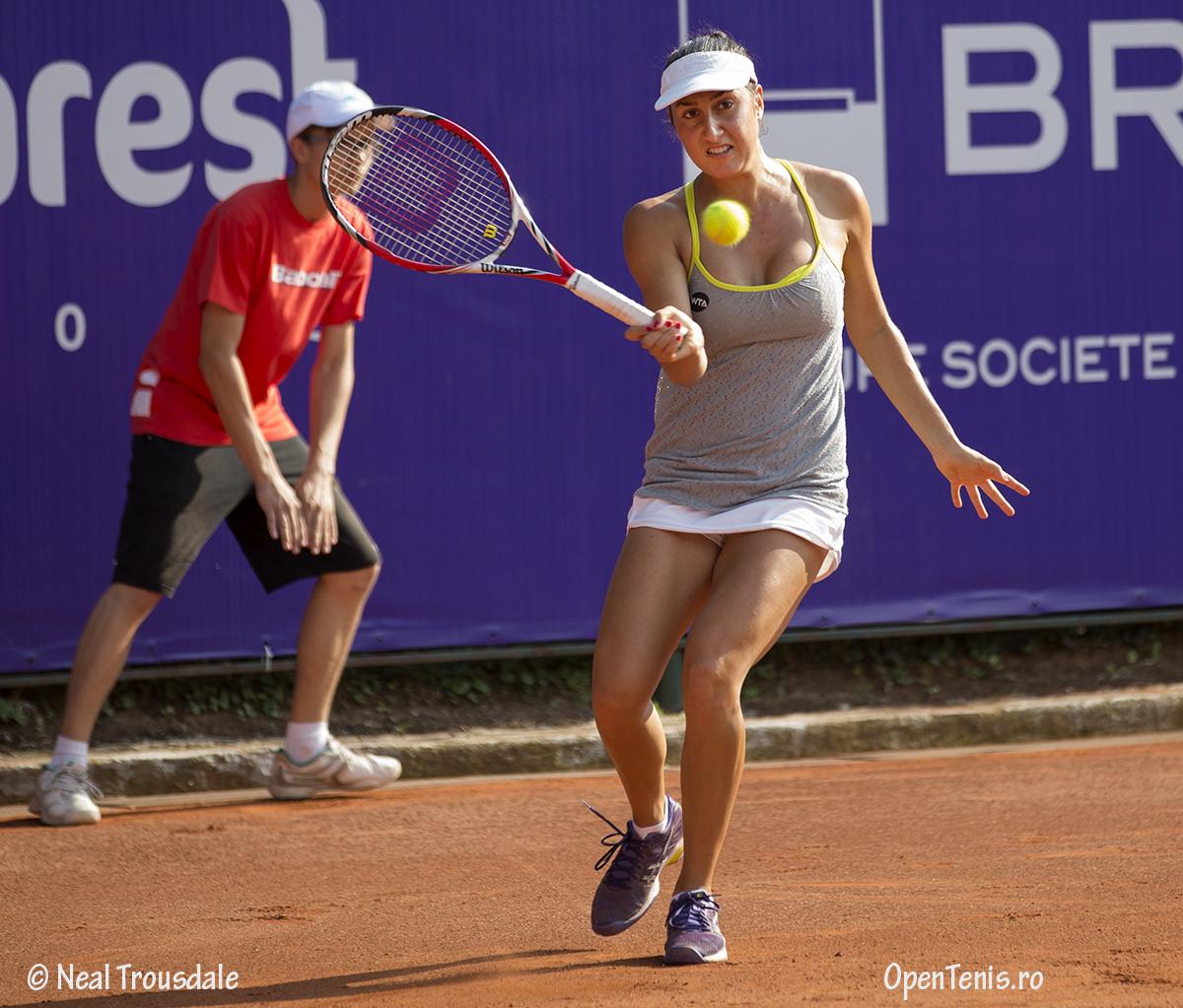 Ana Bogdan si Cristina Dinu la BRD Bucharest Open