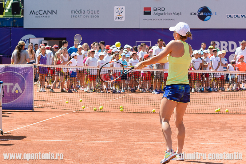 Kid's day la BRD Bucharest Open