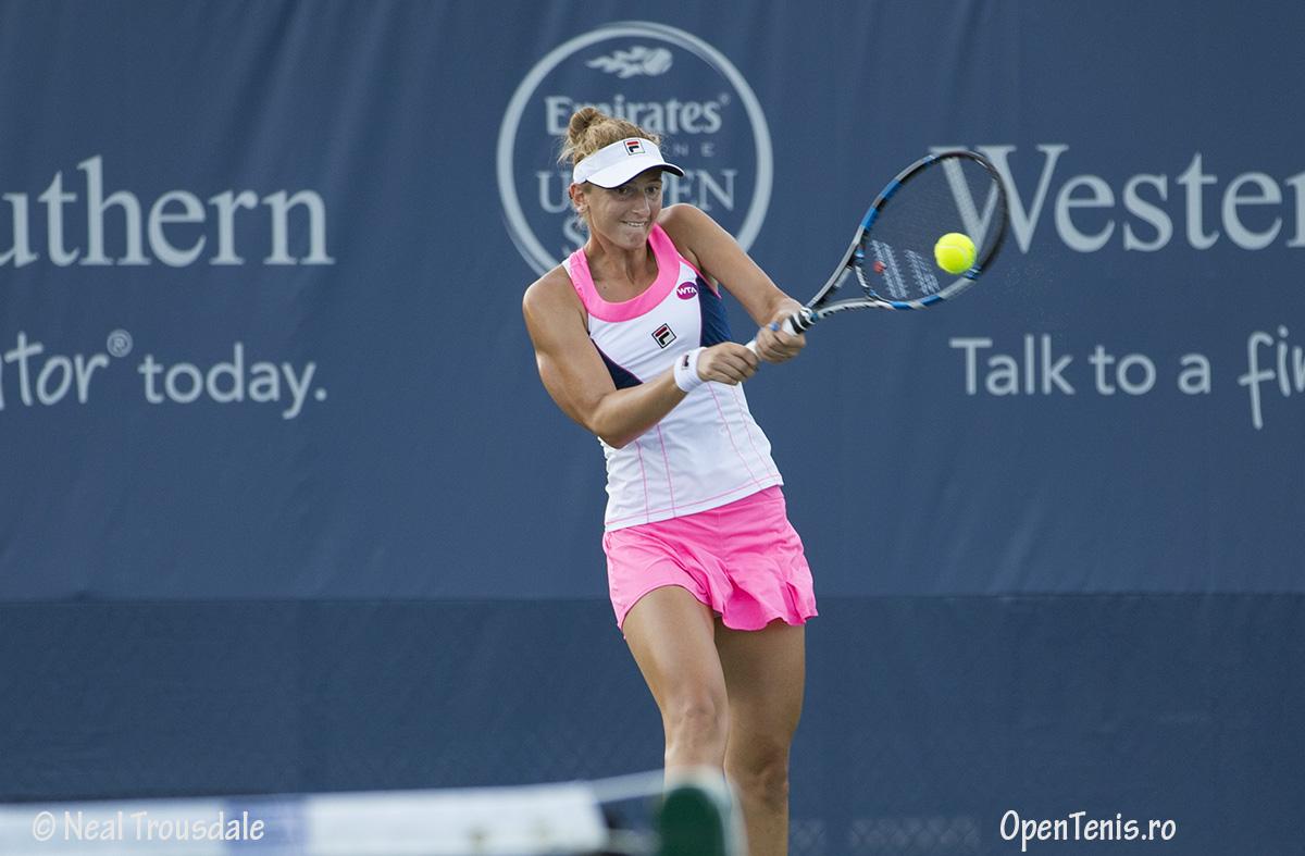 Irina Begu - infrangere la dublu la Western & Southern Open