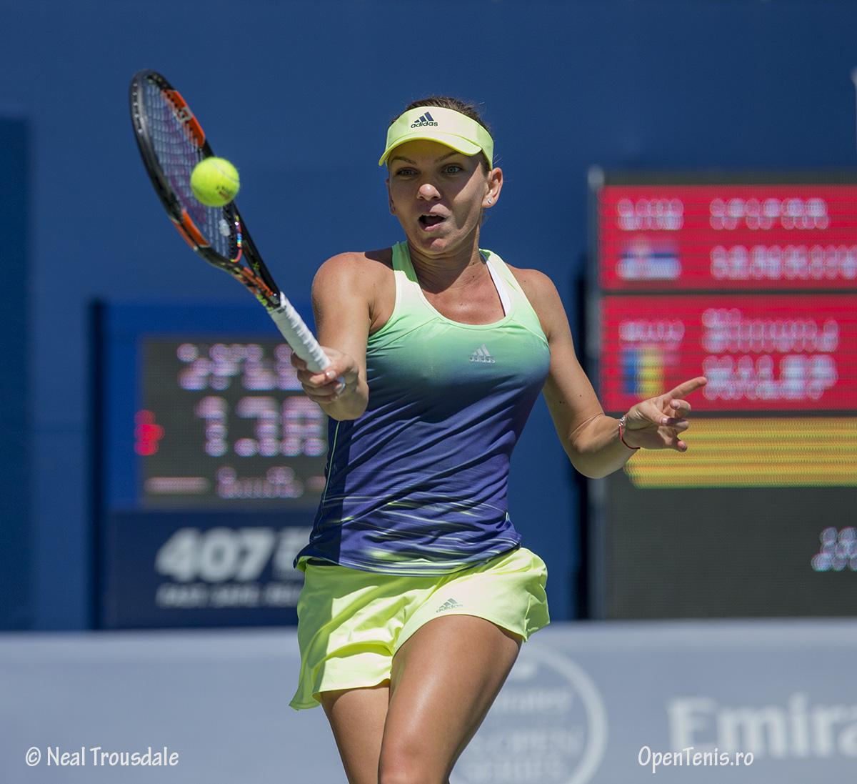 Victorie facila pentru Simona Halep la Rogers Cup