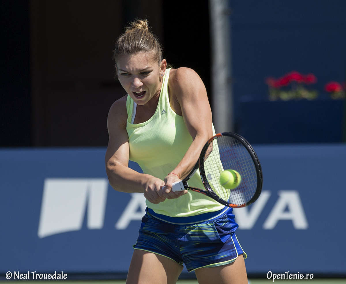 Simona Halep - antrenamente la Rogers Cup Toronto