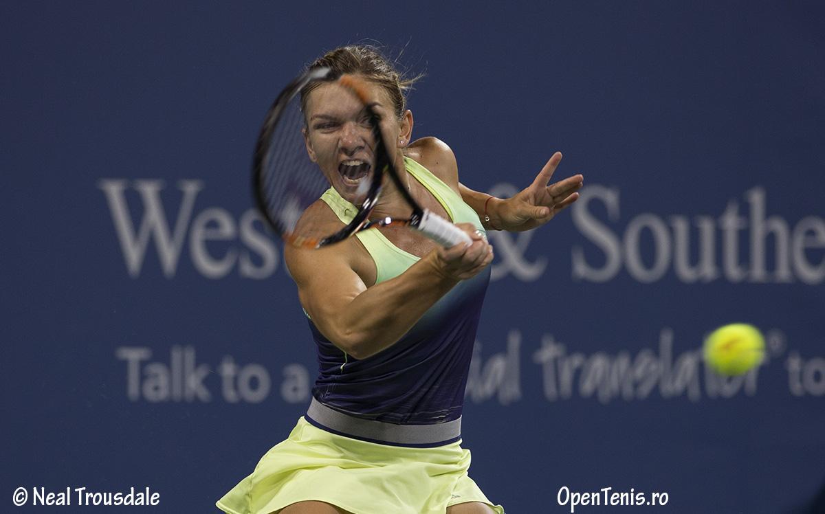 Calificare in turul al patrulea pentru Simona Halep la Western & Southern Open