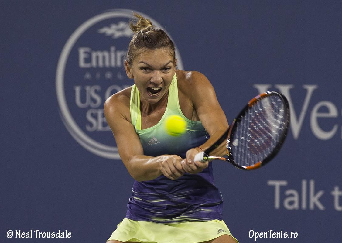 Simona Halep se califica in semifinalele de la Cincinnati