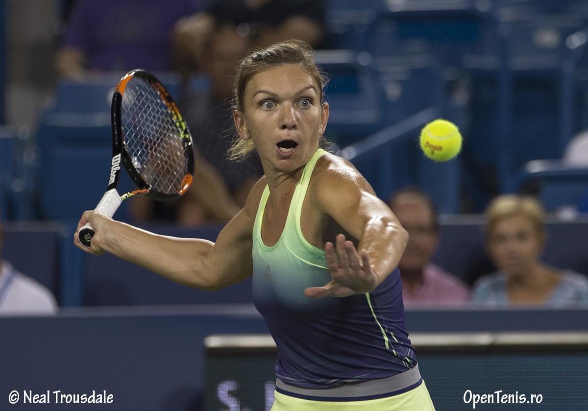 Simona Halep se califica in finala de la Western & Southern Open
