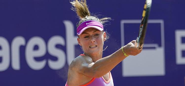 Ana Bogdan a fost eliminată în trei seturi