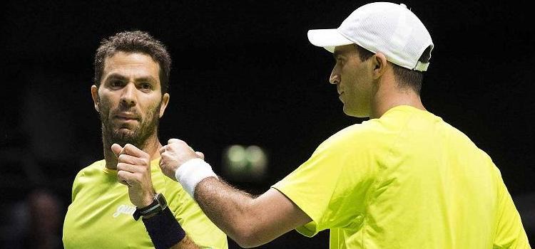 Tecău şi Rojer joacă azi semifinala