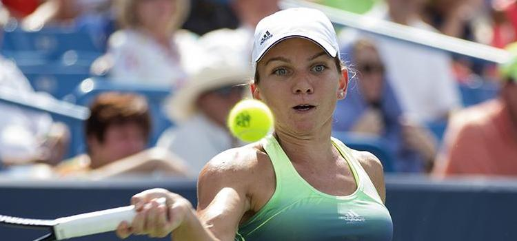 Simona Halep a jucat un singur meci la Dubai