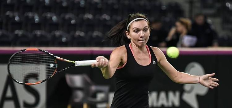 Simona Halep o întâlneşte pe Ana Ivanovici în optimi la Dubai