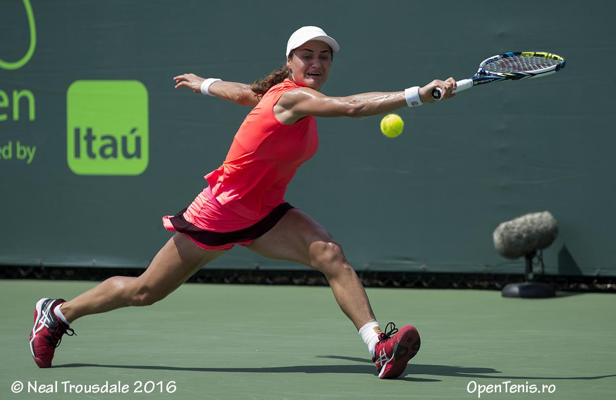 Monica Niculescu - victorie în turul al treilea la Miami Open - galerie foto