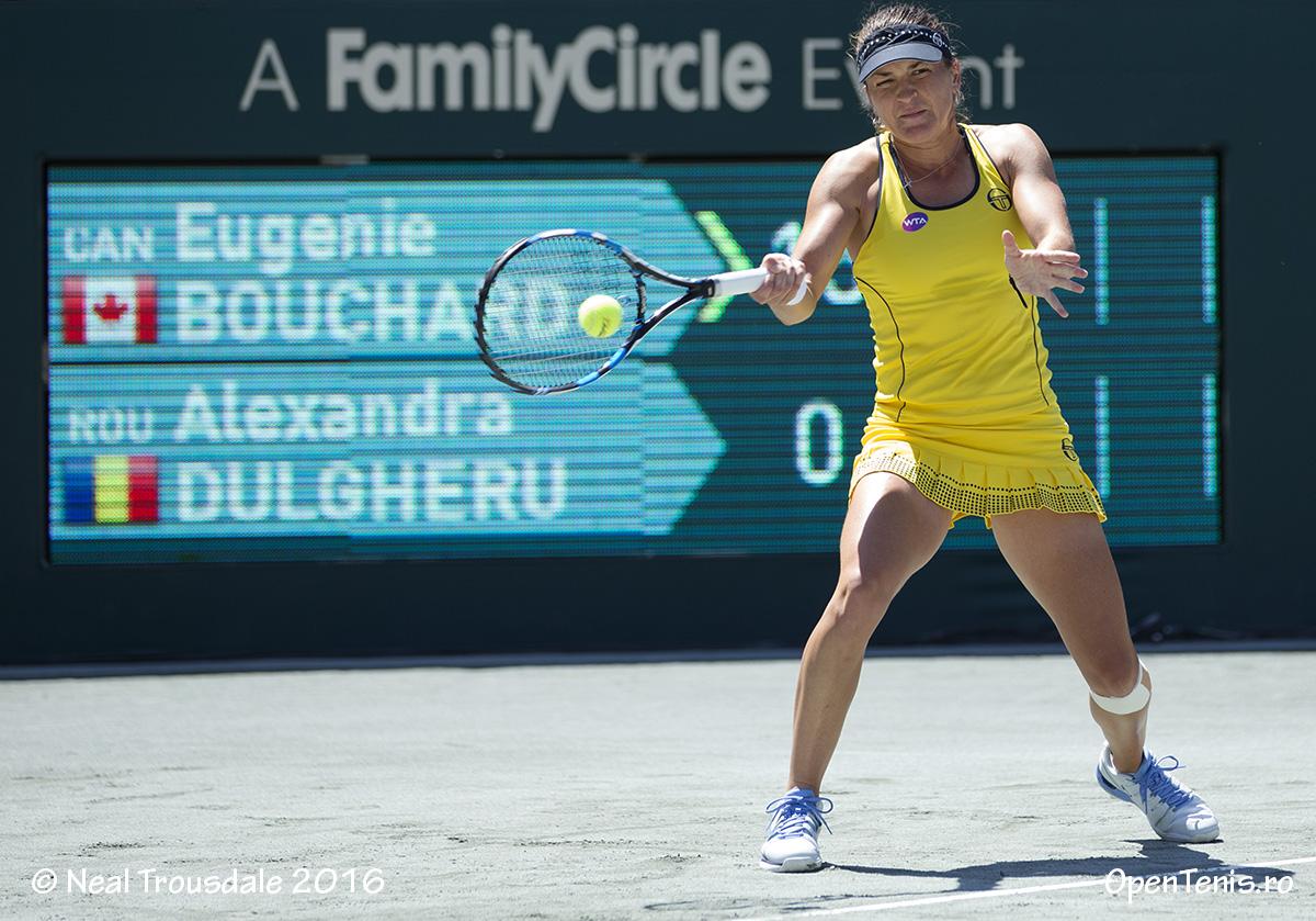 Alexandra Dulgheru a fost eliminată în primul tur