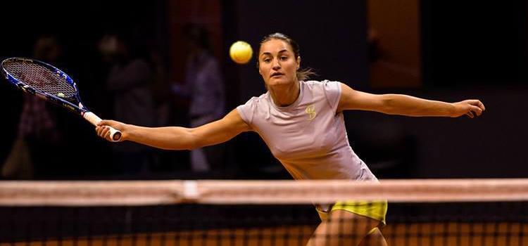 Imagini de la antrenamentul Monicăi Niculescu la Stutgart