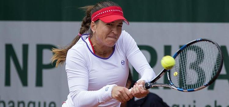 Meciul Alexandrei Dulgheru cu Yanina Wickmayer în imagini