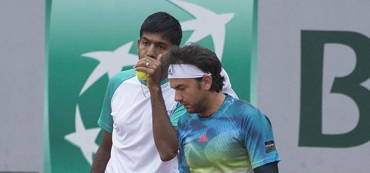 Meciul lui Florin Mergea din optimi la Roland Garros la dublu masculin în imagini