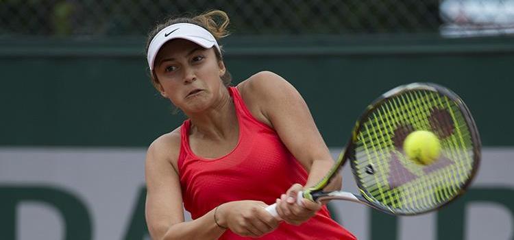 Meciul junioarei Oana Gavrilă din primul tur la Roland Garros în imagini