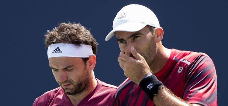 Meciul lui Mergea şi Tecău din semifinale în imagini (II)