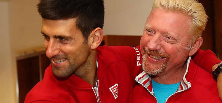 Djokovic şi Becker merg pe drumuri diferite