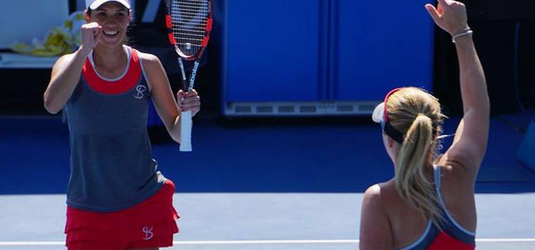 Olaru este în turul 2 la dublu la Australian Open