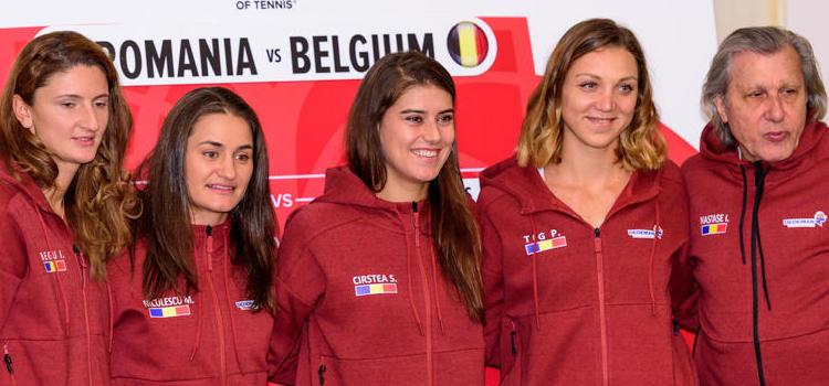 Mâine şi poimâine are loc meciul România-Belgia: Niculescu şi Flipkens joacă primele