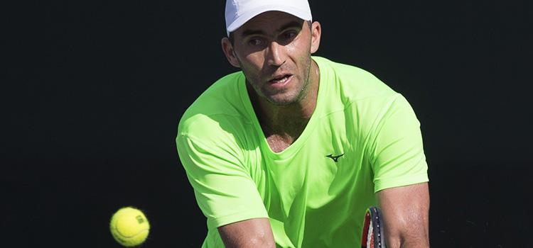 Imagini de la antrenamentul lui HORIA TECĂU şi al lui Jean-Julien Rojer la Miami Open