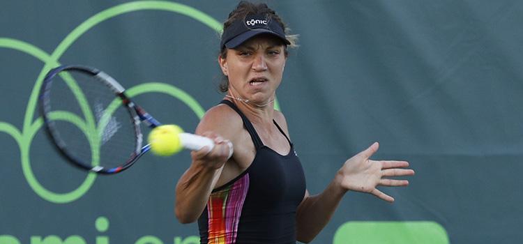 Imagini de la meciul PATRICIEI MARIA ŢIG din primul tur al calificărilor la Miami Open