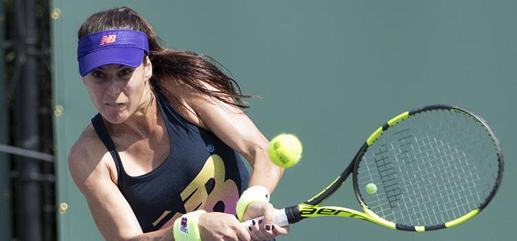 Imagini de la antrenamentul SORANEI CÎRSTEA la Miami Open