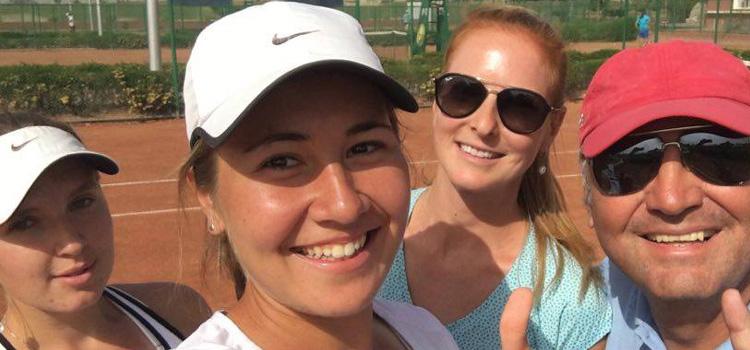 Irina Fetecău este campioană la dublu la Cairo