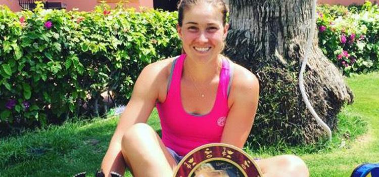 Laura-Ioana Andrei este dublă campioană la Sharm El Sheikh