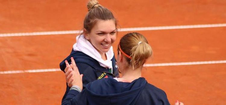 Simona Halep a adus în premieră României două puncte în Fed Cup