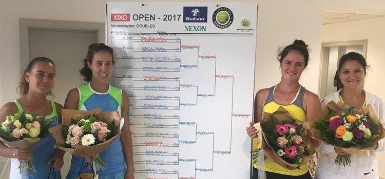 Mihaela Buzărnescu şi Irina Maria Bara sunt campioane la Dunakeszi