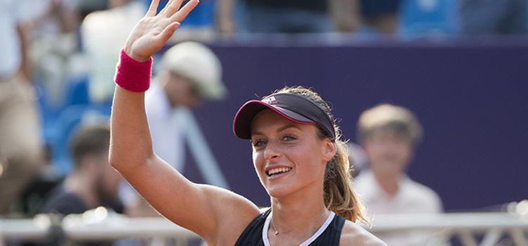 Meciul ANA BOGDAN - Anastasija Sevastova în imagini