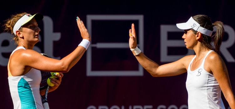 Begu, Olaru şi Bara luptă pentru calificarea în semifinale la dublu