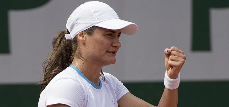 Niculescu a învins-o pe Olaru în primul tur la dublu