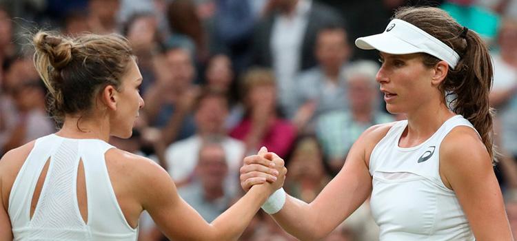 Halep a fost eliminată în sferturi la Wimbledon