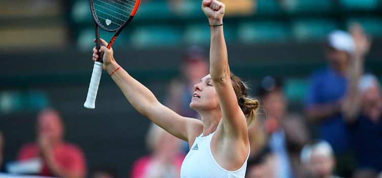 Calificare muncită pentru Simona Halep la Wimbledon