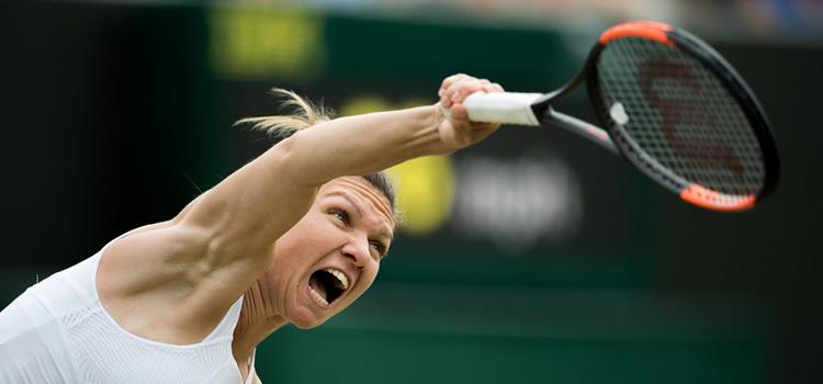 Halep joacă în sferturi la Wimbledon pentru locul 1 mondial