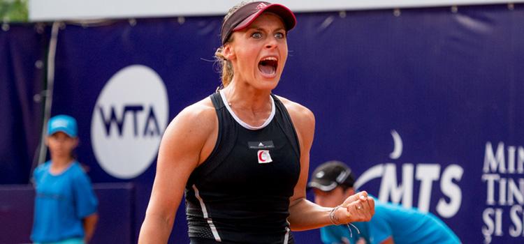 Ana Bogdan joacă azi în primul tur la New Haven cu Elena Vesnina
