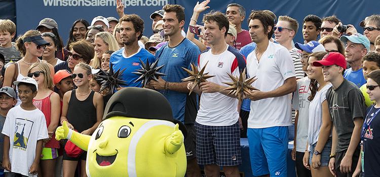 Imagini de la finala Tecău, Rojer - Peralta, Zeballos şi de la festivitatea de premiere