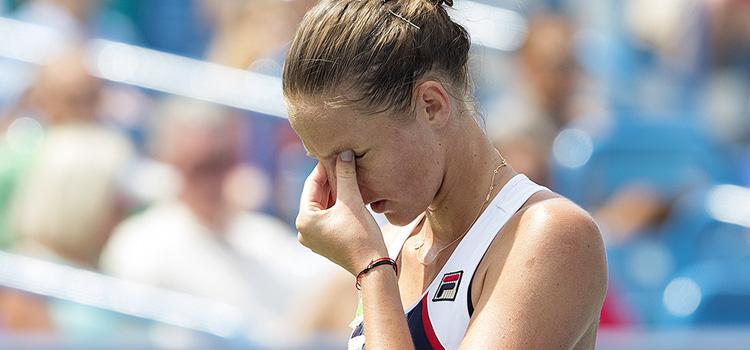 Plíšková riscă să piardă locul 1 WTA după înfrângerea cu Muguruza