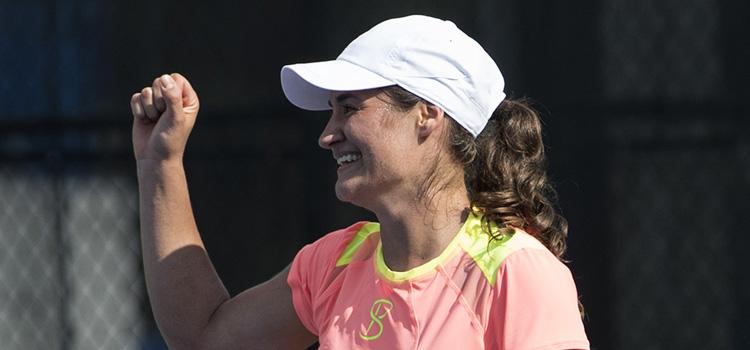 Meciul Monica Niculescu - Nao Hibino în imagini