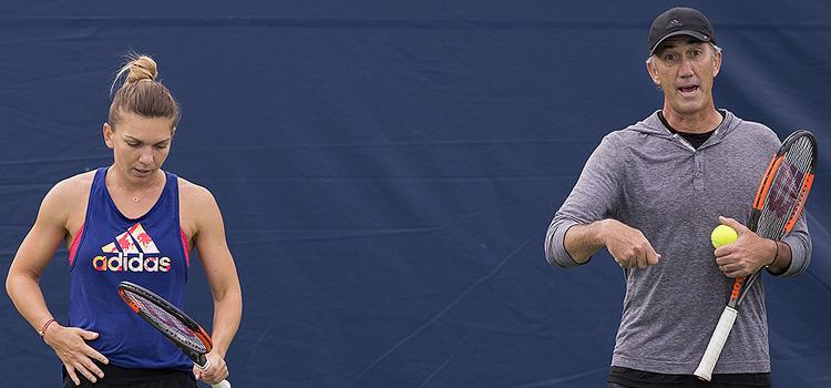 Imagini de la antrenamentul SIMONEI HALEP la Rogers Cup (Toronto)