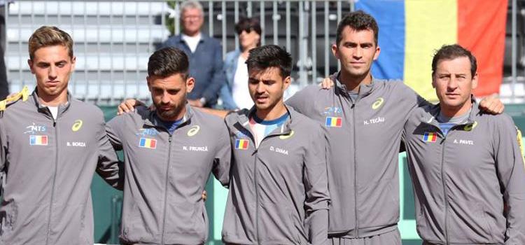 Austria conduce România cu 2-0 în Cupa Davis