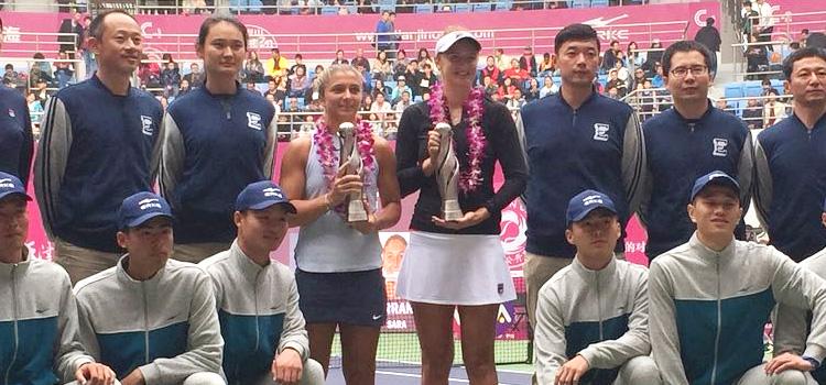 Irina-Camelia Begu a câştigat al şaselea titlu la dublu