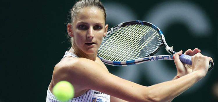 Plíšková e în semifinale, Ostapenko a fost eliminată