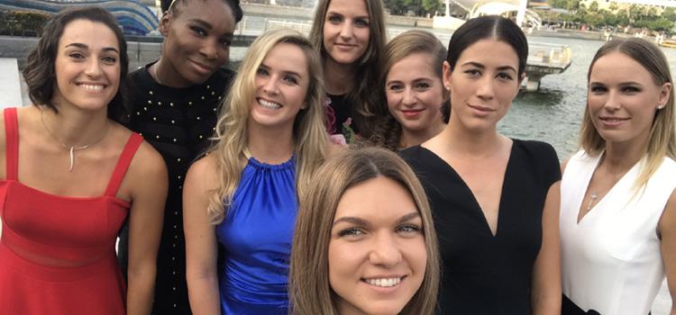Halep este în grupă cu Svitolina, Wozniacki şi Garcia