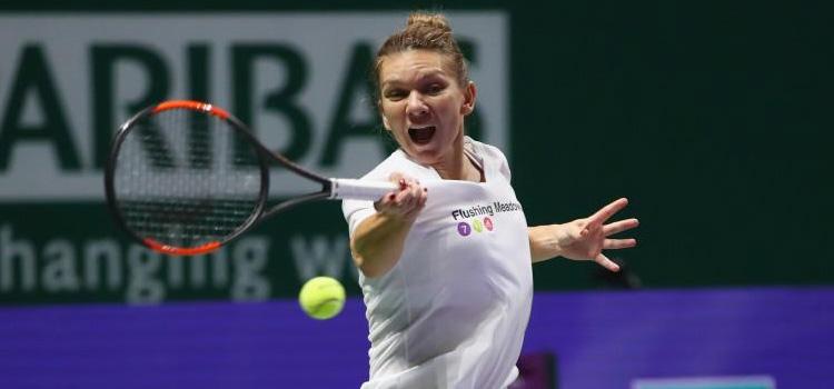 Simona Halep debutează la Turneul Campioanelor