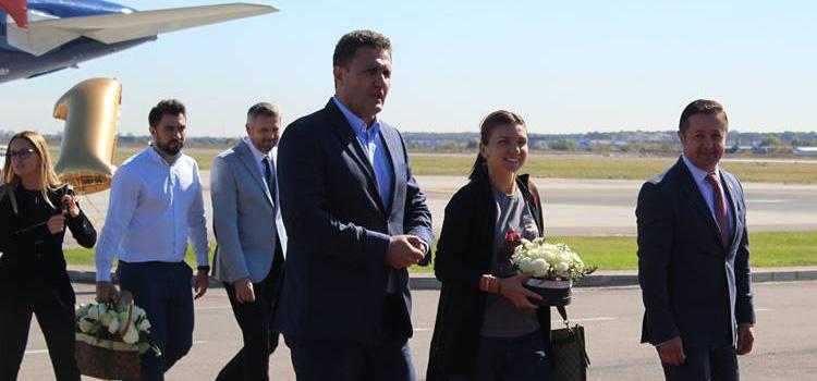 Noul lider mondial WTA a venit acasă