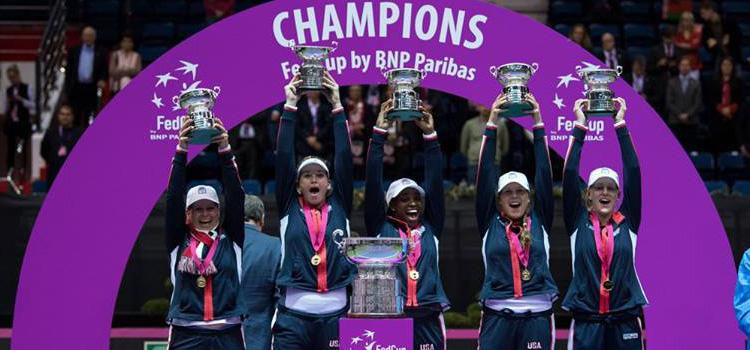 Statele Unite au câştigat Fed Cup a 18-a oară