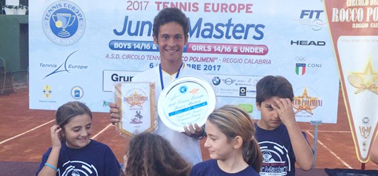 """Dică a fost desemnat """"jucătorul anului 2017 în Tennis Europe Junior Tour"""""""