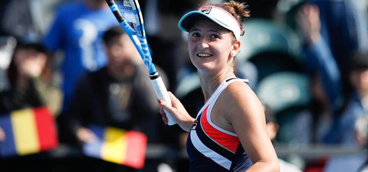 Irina-Camelia Begu a început sezonul 2018 cu victorie